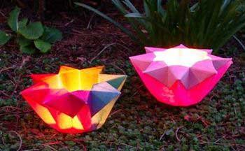 手工折纸怎么制作八角灯