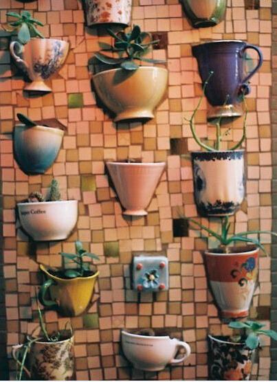 陶瓷杯废物利用