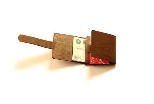 diy牛皮钱包制作