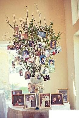 婚礼照片墙