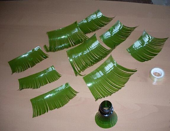 翠绿环保塑料瓶圣诞树