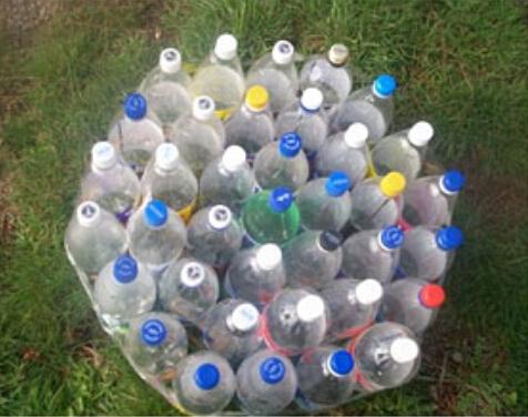 废旧塑料瓶制作小凳子