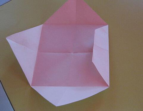 纸船的折法