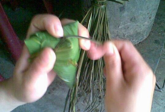 粽子的包法