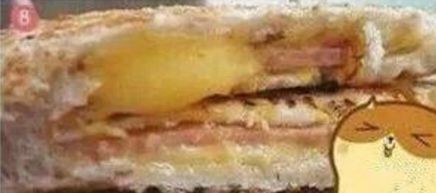 自制鸡蛋火腿三明治