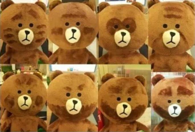 细绒物品如何创意diy变色小熊