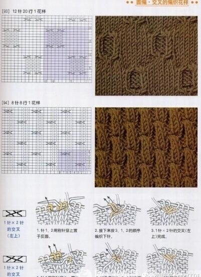 棒针毛衣编织花样图解及步骤介绍