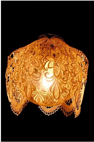 如何制作捆扎式灯罩