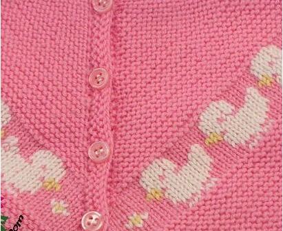 宝宝毛线衣编织