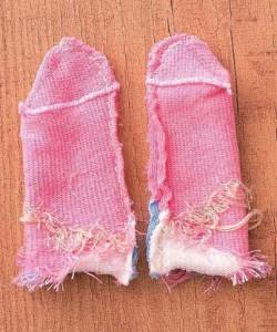袜子的废物利用