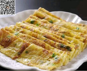 每天一种营养早餐:鸡蛋饼+豆腐鸡汤
