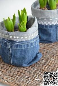 牛仔裤的废物利用