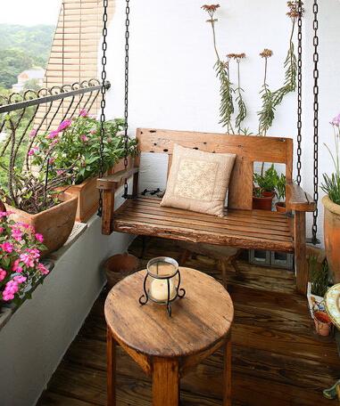 自己diy设计让你心动的小阳台