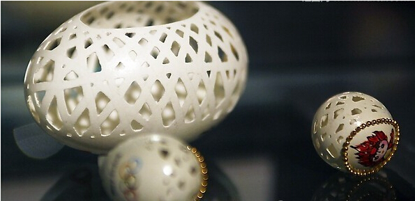小小鸡蛋壳无限创意变身手工艺品