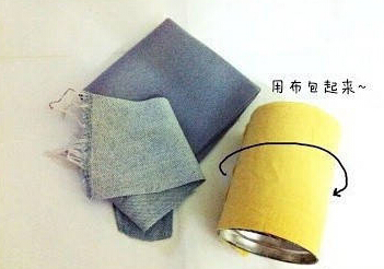 DIY小黄人笔筒