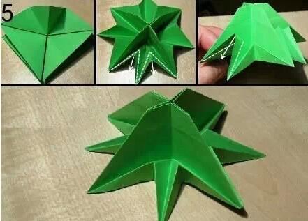 手工制作圣诞树