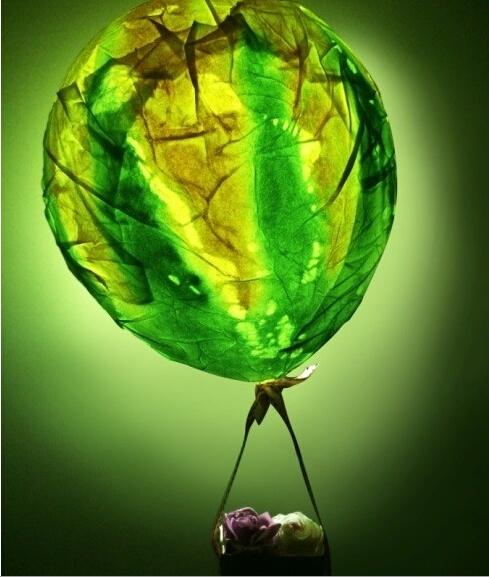 自制浪漫的热气球图解教程