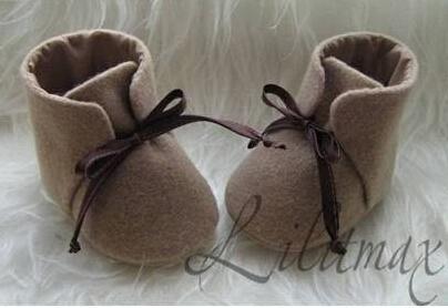 自制可爱宝宝鞋