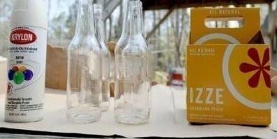玻璃瓶自制创意个性花瓶