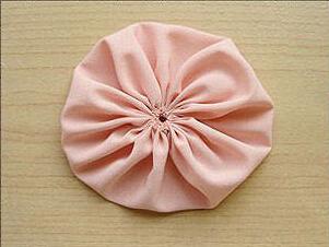 韩版玫瑰头花手工制作