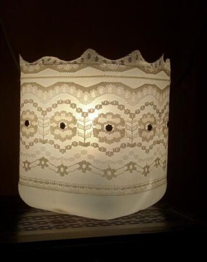 塑料桶制作台灯