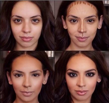 如何利用彩妆将自己的五官变得更立体、更精致小巧!