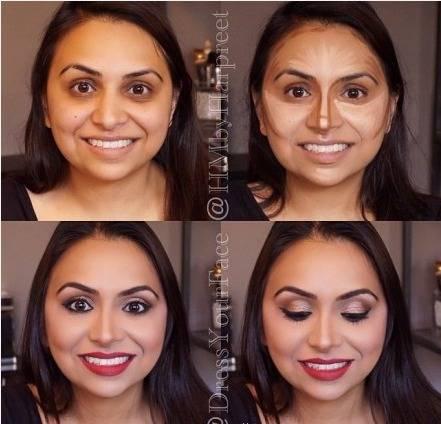 怎样化妆才能使脸变小变立体