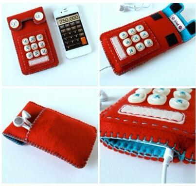 自制完美手机、配件包包