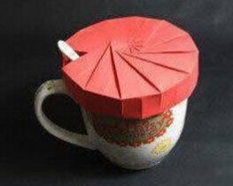自制茶杯盖