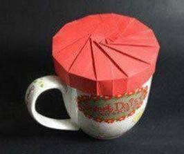 手工自制茶杯盖