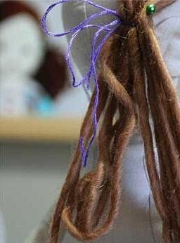 娃娃头发制作