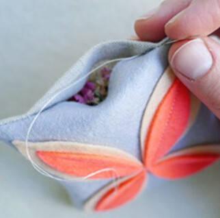 香包的制作过程
