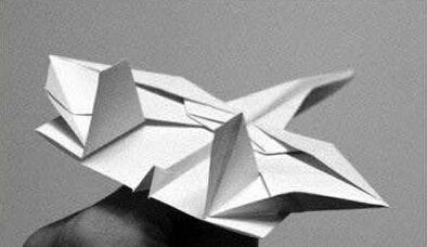 手工折纸战斗飞机折法图解与教程!