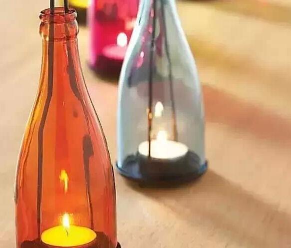 废弃的酒瓶旧物改造的创意生活