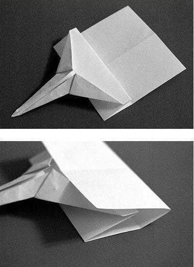 手工折纸战斗飞机折法图解与教程