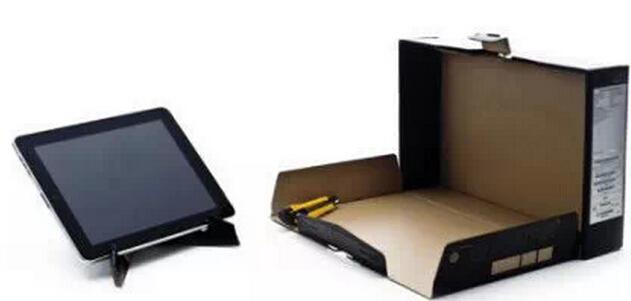 硬纸盒子DIY平板电脑及手机支架