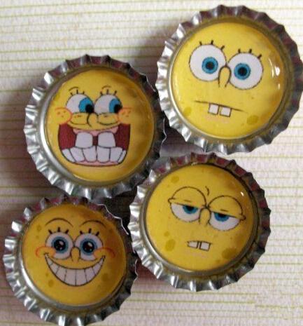 啤酒瓶盖制作创意可爱小饰品