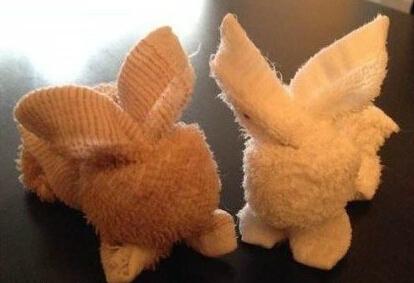 记忆中的毛巾小兔
