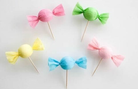 制作装饰糖果