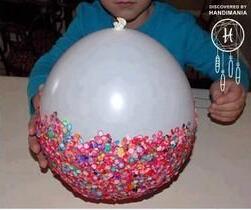 用糖果来做收纳