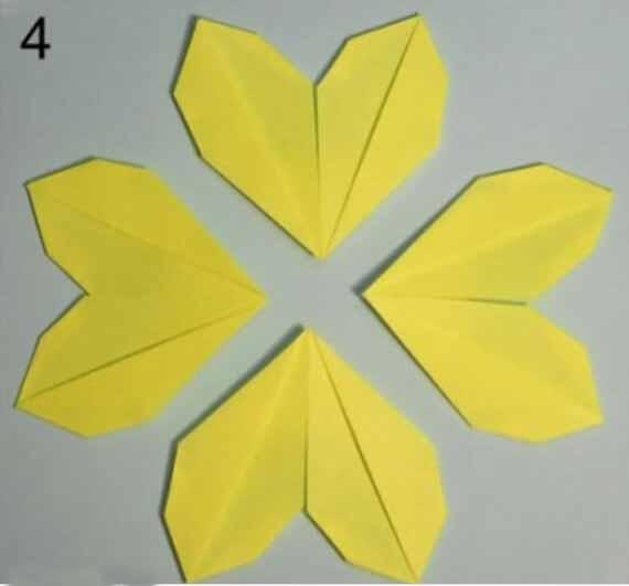 花朵手工折纸