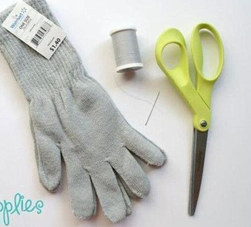废旧手套翻新改造