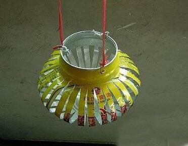 废旧易拉罐改造小灯笼