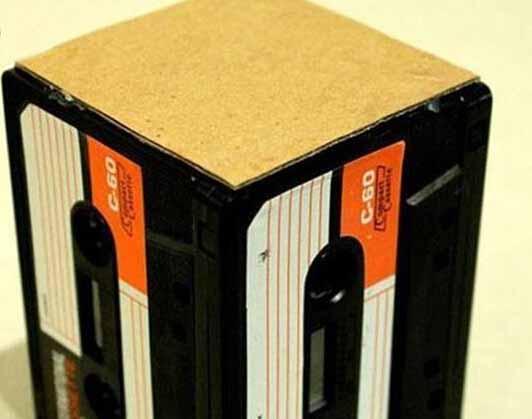 磁带废物利用