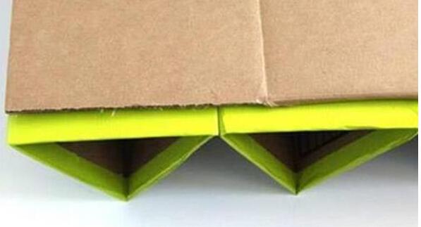 自制纸板鞋架