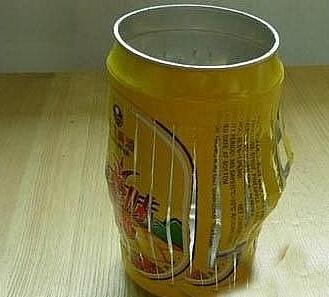 易拉罐做灯笼