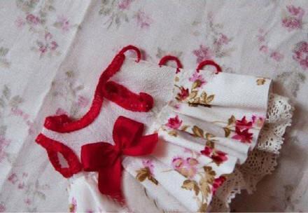 DIY娃娃裙子