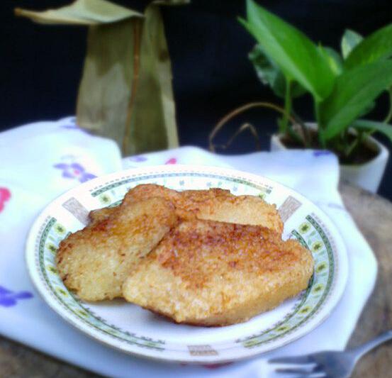 如何做香煎碱水粽子的方法与步骤