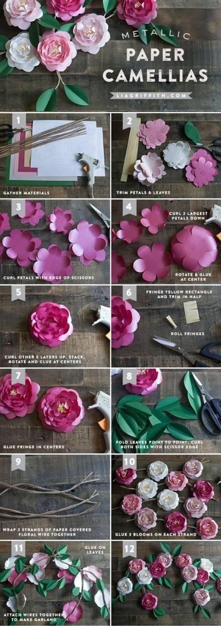 剪纸花步骤