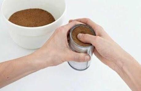 废旧奶粉桶、铁罐废物利用——制作浪漫烛台